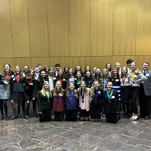 Mariner Middle students claimed a host of awards in state competition Feb. 26.