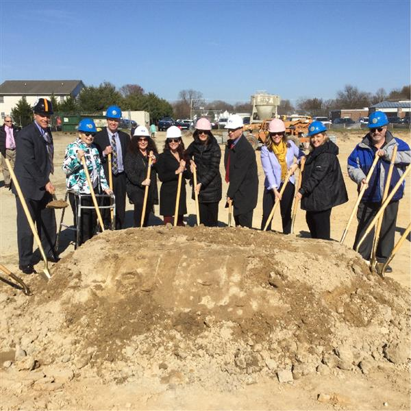 H.O. Brittingham Groundbreaking Ushers in New Era