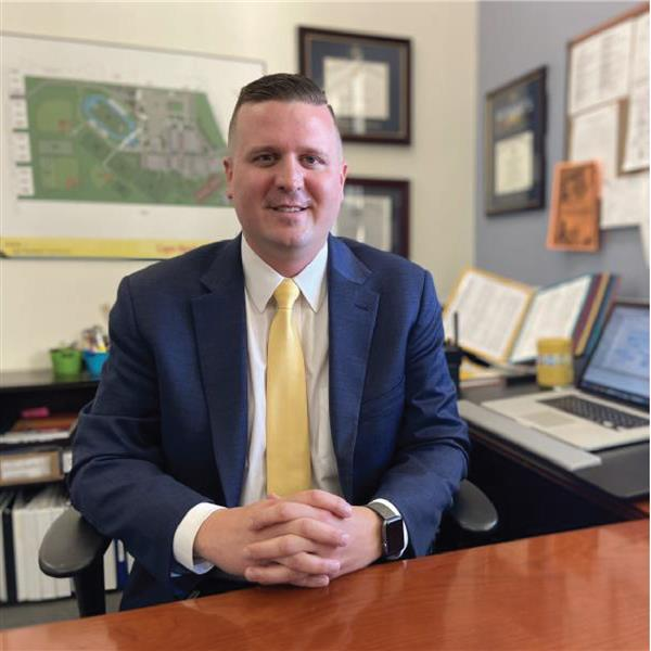 Former Cape High Assistant Principal Kyle Bentley is now principal at H.O. Brittingham Elementary.