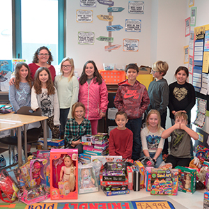 Love Creek CAP Students Collect Toys for A.I duPont Children's Hospital