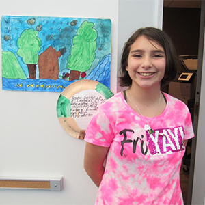 LCE 5th Graders Host Family Gallery Walk