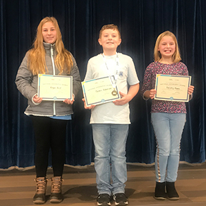 Tanner Robinson Earns 2019 Geography Bee School Champion