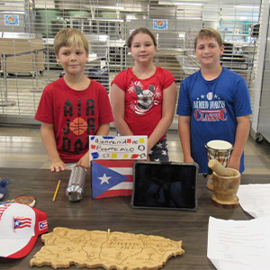 David Drummond, Melina Burgos and Lukin Jones researched Puerto Rico