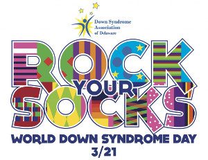 Rock Your Socks for World Down Syndrome Day on March 21st