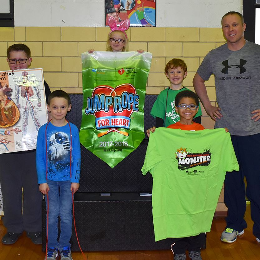 Rehoboth Elementary Holds Successful Jump Rope for Heart Fundraiser