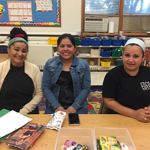 Family Literacy Classes Held at Rehoboth Elementary