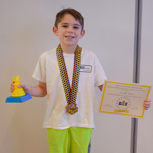 Nicholas Petito will represent Rehoboth Elementary School at the state spelling bee March 7.