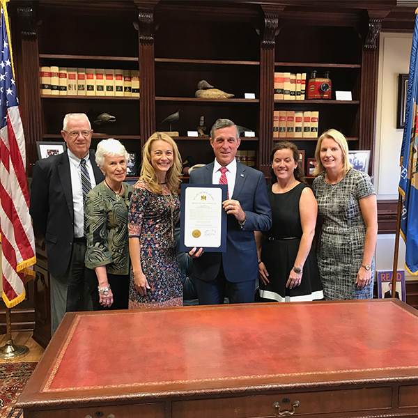 Gov. Carney Declares October, National Principals' Month
