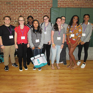 Mariner, Beacon and CHHS girls explored STEM careers Sussex County's first DigiGirlz Day.