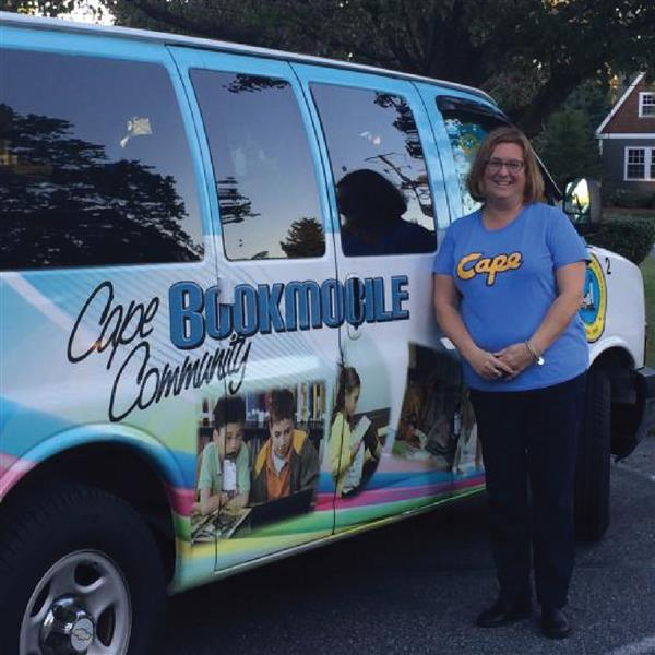 Donna Kolakowski said one of her proudest accomplishments was launching the Cape Bookmobile.en