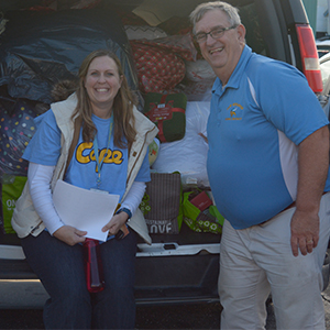 Cape Rallies for Holiday Giving