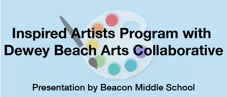 2-28-19 Beacon Middle School Inspired Artists & Dewey Arts Collaborative