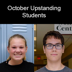 October: Upstanding Students of the Month