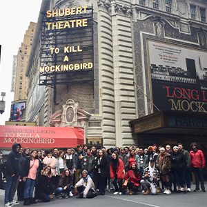 CHHS Students Travel to NYC for Broadway Show