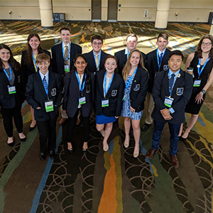 CHHS DECA students gear up for the international competition.