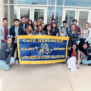 CHHS's LASO club has about 75 members, and another 25 graduates who support the club when they can.