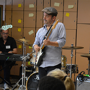 Students Enjoy In-School Jazz Sessions