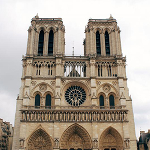 A photo of Notre-Dame taken by a student less than a week before the fire.
