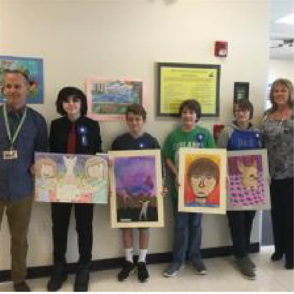 Beacon Middle School Art Contest Winners Announced